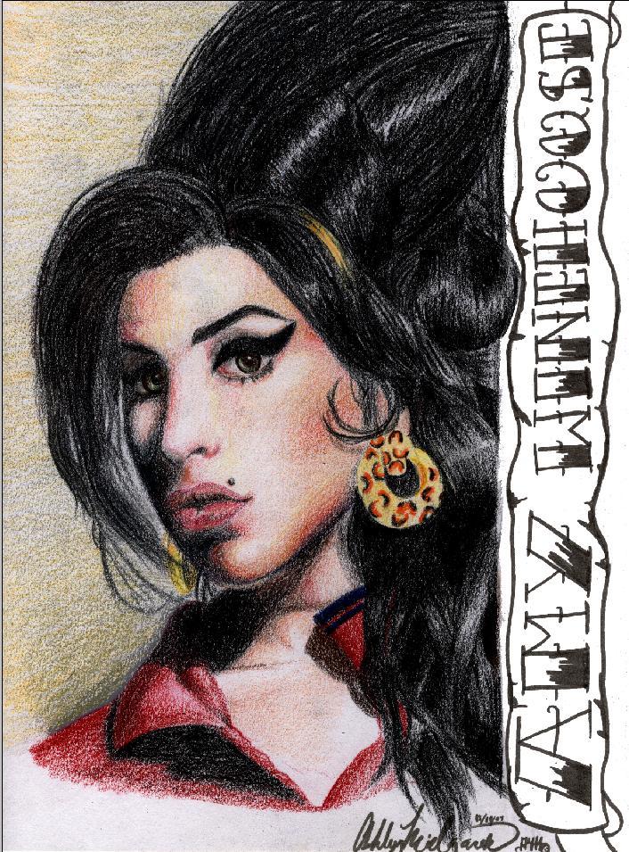 Amy Winehouse - Amy Winehouse Fan Art (24904779) - Fanpop Amy Winehouse