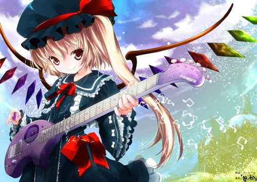 Anime Girl gitara