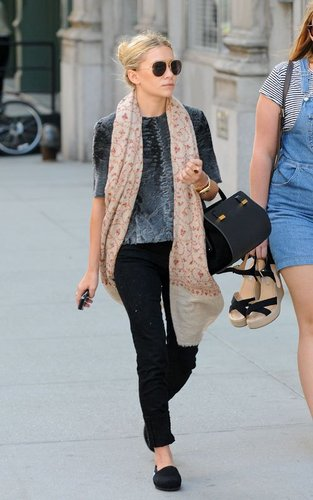 Ashley - Out in New York City,  August 22, 2011