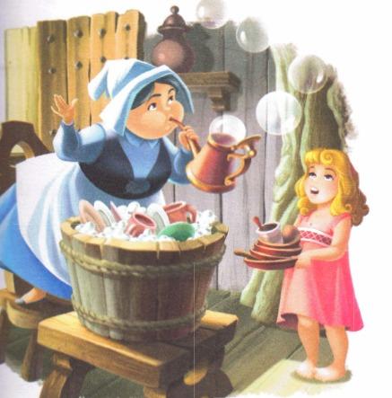 Aurora's Childhood