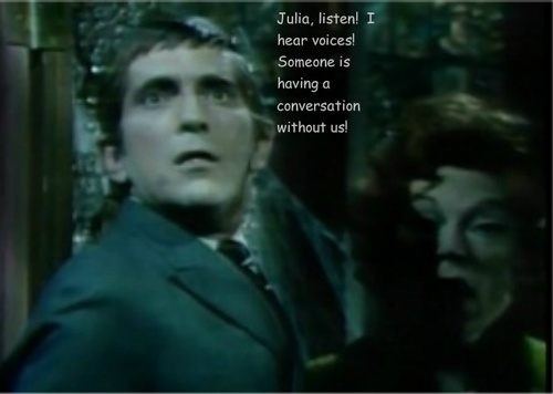 Barnabas and Julia--Funny Captions