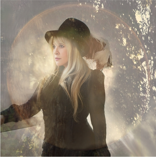 Stevie Nicks wallpaper probably containing a fountain, a fedora, and a glory hole titled Beautiful Stevie