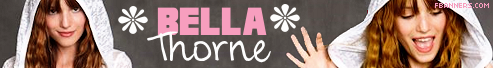 Bella Thorne Facebook banner