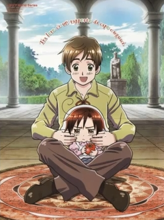 Boss Spain & chibi Romano