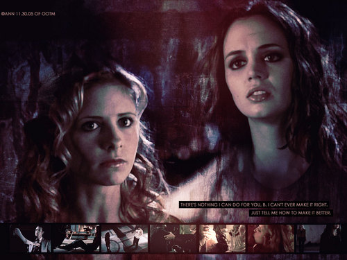 Buffy & Faith - buffy-summers Wallpaper
