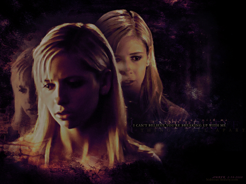 buffy, a caça-vampiros wallpaper with a portrait titled Buffy the Vampire Slayer
