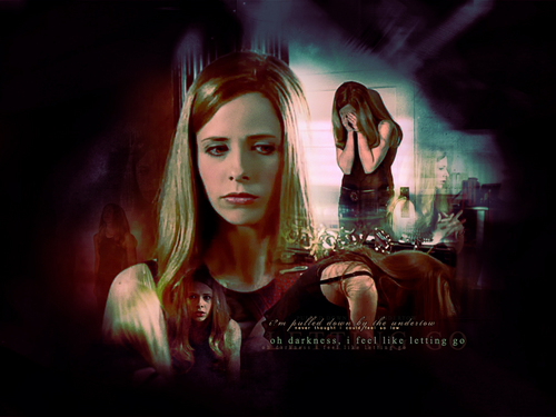 Buffy – Im Bann der Dämonen Hintergrund entitled Buffy the Vampire Slayer