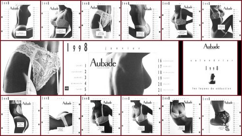 Calendrier Aubade 1998 - full HD -