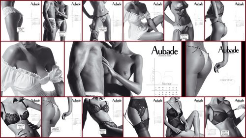 Calendrier Aubade 2005 - full HD -