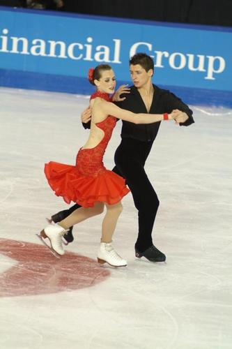 Tessa Virtue & Scott Moir wallpaper called Canadian National Championship's 2006 - Ottawa