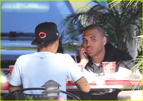 Chris Brown: Lunch Break with Bow Wow