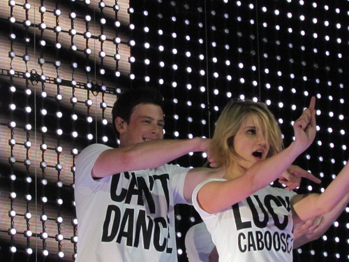 Cory Monteith at Glee Live DC