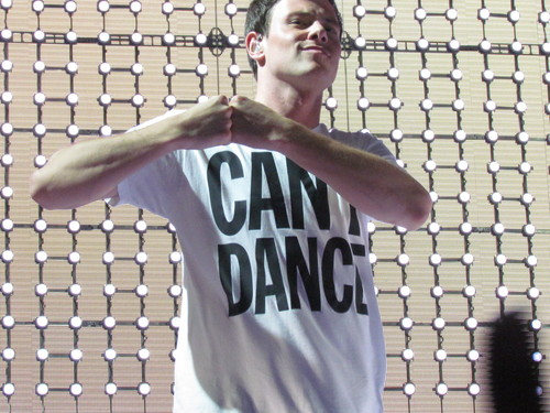 Cory Monteith at স্বতস্ফূর্ত Live DC