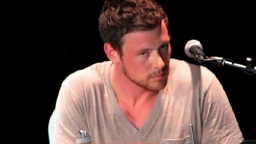 Cory Monteith at Hershey Park