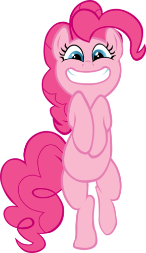 Cute Pinkie vector