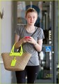 Dakota Fanning Works Up a Sweat - dakota-fanning photo