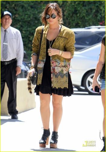 Demi Lovato: Lady 'Marmalade' Luncher