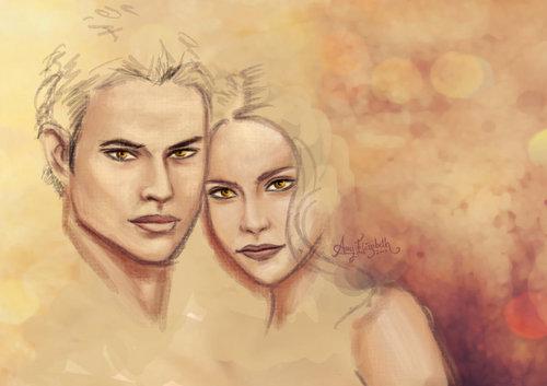 Emmett & Rosalie Fanart
