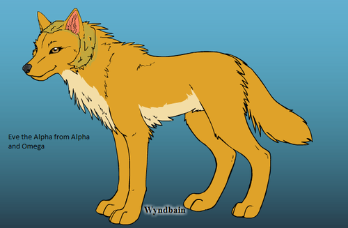 Eve the Alpha from Alpha and Omega