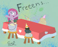 Freeeens - pinkie-pie fan art