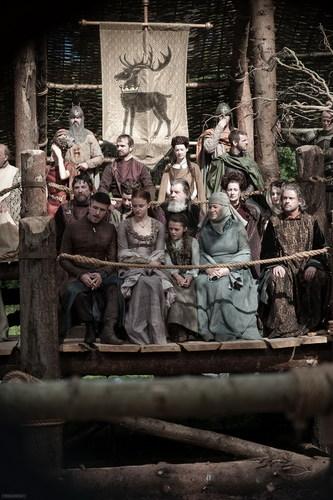 Petyr, Sansa, Arya & Mordane