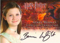Ginny Weasley™ Authentic Autograph Card [Harry Potter and the Goblet of Fire]