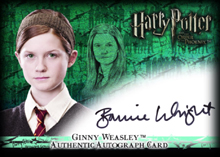 Ginny Weasley™ Authentic Autograph Card [Harry Potter and the Order of the Phoenix]