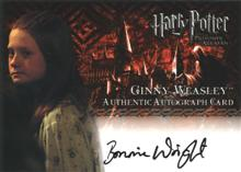 Ginny Weasley™ Authentic Autograph Card [Harry Potter and the Prisoner of Azkaban]