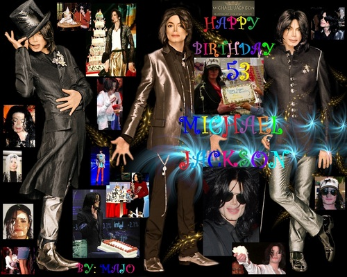 HAPPY BIRTHDAY TO THE KING MICHAEL JACKSON LOV YA