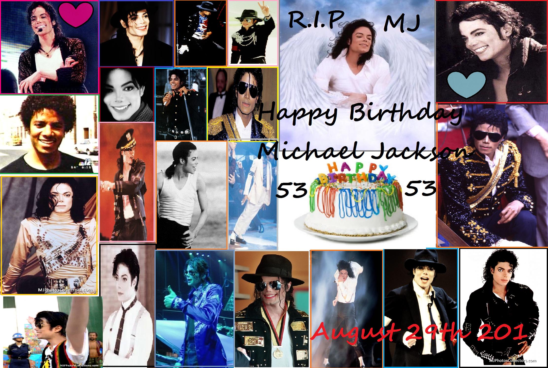 Happy Birthday Michael Jackson !!!! <3 =D