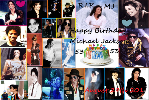 Happy Birthday Michael Jackson !!!! <3 =D