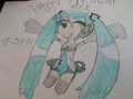 Happy Birthday Miku! - hatsune-miku fan art