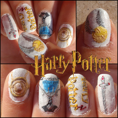 Harry Potter Body Art