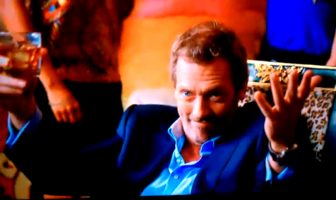 Hugh Laurie-FOX Superbowl commercial  2010