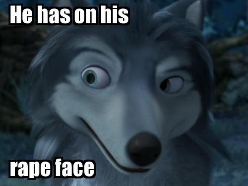 Humphrey's rape face!!