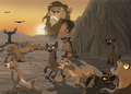 Hyenas - hyenas-from-lion-king fan art