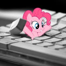 I wish she'd pop out of MY keyboard! >:(