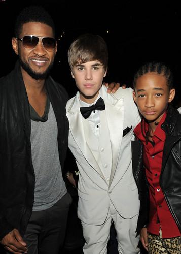 Jaden, Usher, & Justin
