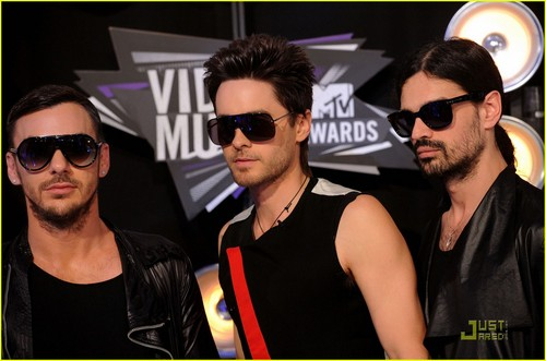 Jared Leto: mtv VMAs 2011 with 30 segundos to Mars!