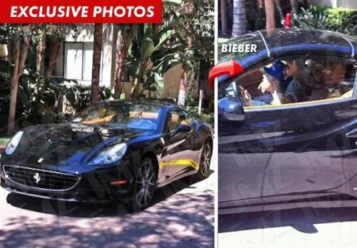 Justin Bieber: Minor Car Crash
