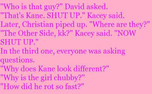 KND Fan Fiction Lines