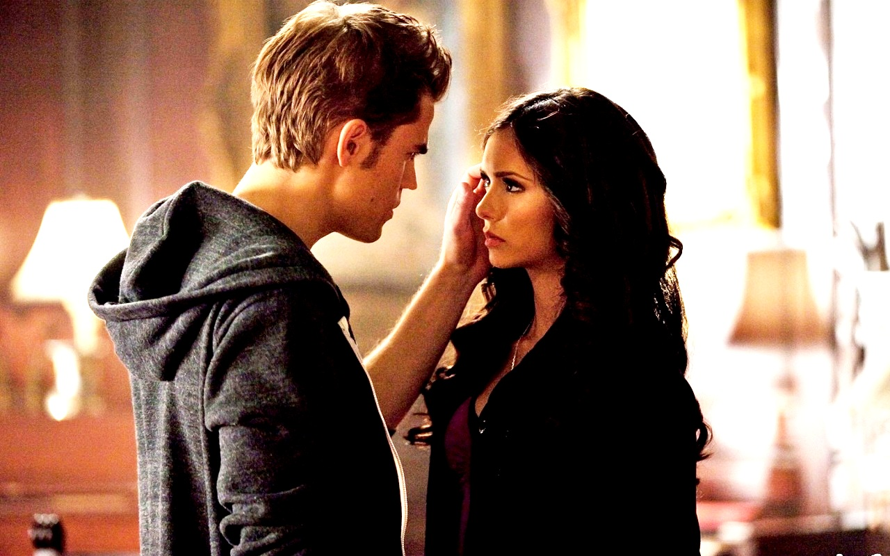 stefan and katherine first meet