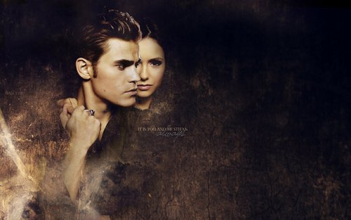 Katherine and Stefan wallpaper called Katherine and Stefan Wallpaper