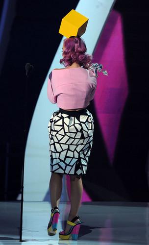 Katy Perry On Stage @ the 2011 এমটিভি VMAs