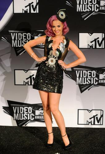 Katy Perry in the 2011 MTV VMA Press Room