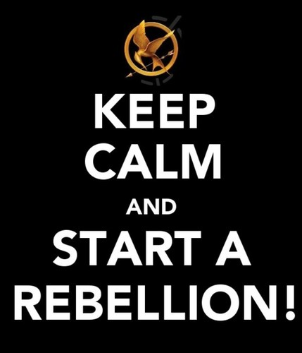 The Hunger Games wallpaper titled Keep Calm
