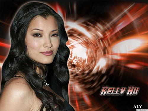 Kelly Hu fondo de pantalla probably with a portrait entitled Kelly Hu