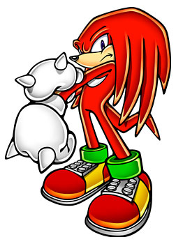 Knuckles the Echidna wallpaper probably with anime entitled Knuckles SA2