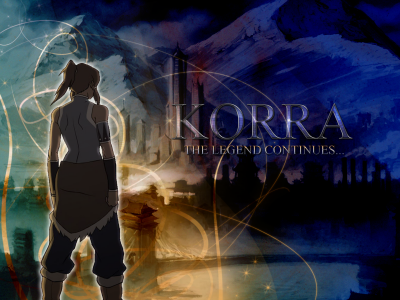 Korra wall paper - avatar-the-legend-of-korra Photo