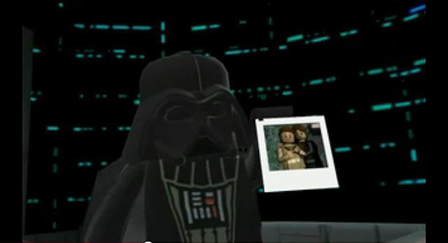 Lego Darth Vader and Anakin and Padme picture